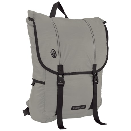 Timbuk2 Hidden Swig Backpack in Cement/Gunmetal