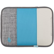Timbuk2 iPad® Slim Sleeve in Grey/Cold Blue/Tusk Grey - Closeouts