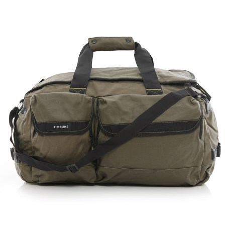 Timbuk2 Navigator Canvas Duffel Bag - Medium in Army/Acid