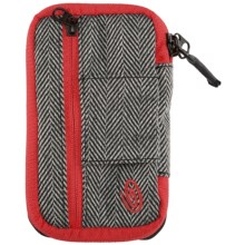 Timbuk2 Pinch Phone Wallet in Black/Herringbone/Bixi Red - Closeouts