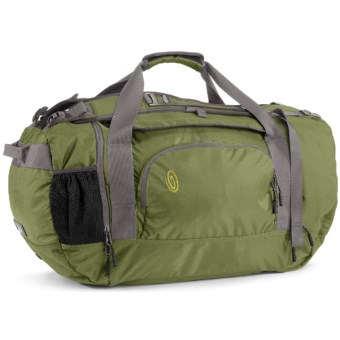 Timbuk2 Race Duffel Bag - Small in Algae Green/Gunmetal