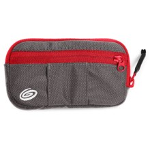 Timbuk2 Shagg Bag Accessory Case - Small in Gunmetal/Rev Red - Closeouts