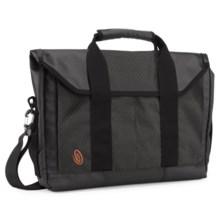 Timbuk2 Sidebar Laptop Briefcase - Medium in Black/Carbon - Closeouts