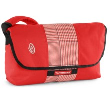 Timbuk2 Spin Messenger Bag - Medium in Bixi Red/Bixi Red Plaid/Bixi Red - Closeouts