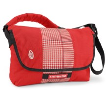 Timbuk2 Spin Messenger Bag - Small in Bixi Red/Bixi Red Plaid/Bixi Red - Closeouts