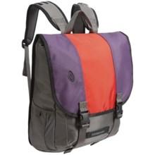 Timbuk2 Swig Laptop Backpack in Blackberry/Crimson/Blackberry - Closeouts