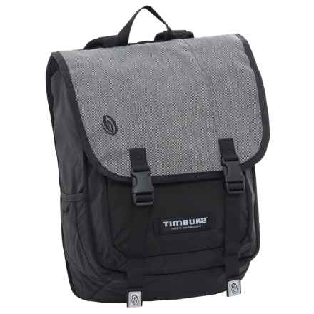 Timbuk2 Swig Laptop Backpack in Herringbone Grey - Closeouts