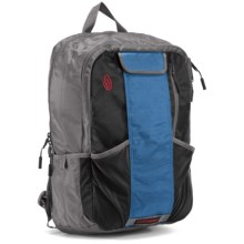 Timbuk2 Track II Cycling Backpack - Medium in Gunmetal/Blue - Closeouts