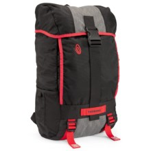 Timbuk2 Yield Laptop Backpack in Black/Herringbone/Bixi Red - Closeouts