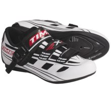 Time Sport RXI Road Cycling Shoes - 3-Hole (For Men and Women) in White/Black - Closeouts