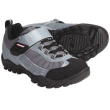 Time Sport TXL MTB Cycling Shoes - SPD (For Women) in Grey/Black - Closeouts