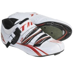 Time Sport Ulteam RS Carbon Road Cycling Shoes - 3-Hole (For Men and Women) in White