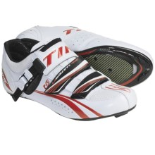 Time Sport Ulteam RS Carbon Road Cycling Shoes (For Men and Women) in White - Closeouts