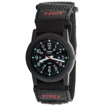 Timex Core Camper Watch - Nylon Band (For Men) in Black/Black - Closeouts
