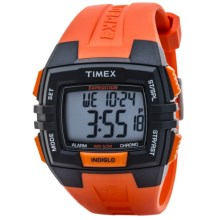 Timex Expedition Chrono Alarm Timer Watch - Digital in Black/Orange - Closeouts