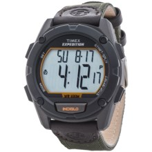 Timex Expedition Chrono Watch (For Men) in Black/Olive - Closeouts