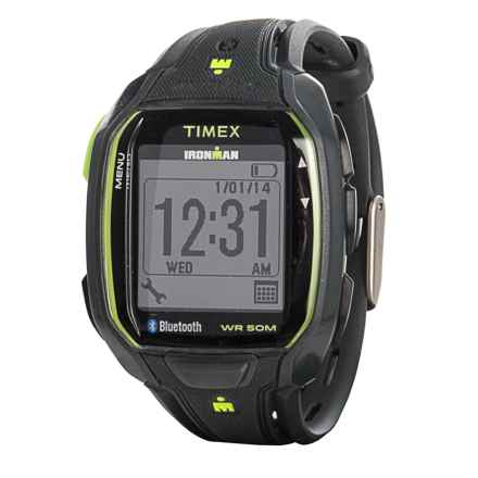 Timex IRONMAN® Connect Data Link Watch (For Men) in Gray - Closeouts