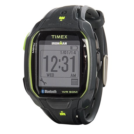 Timex IRONMAN® Connect Data Link Watch (For Men) in Gray