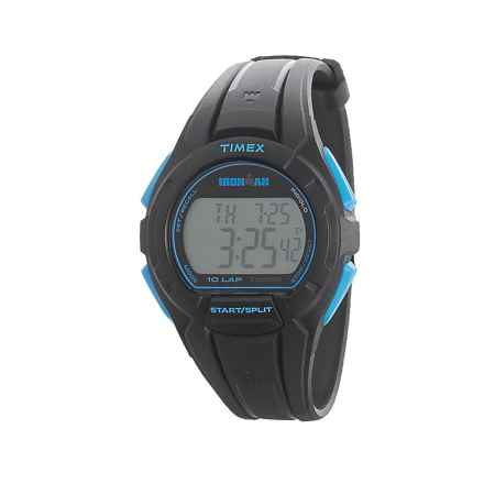 Timex IRONMAN® Essential 10 Full-Size Digital Watch (For Men) in Black - Closeouts