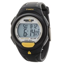 Timex Ironman® Essential 10 Full-Size Sports Watch in White/Black/Black - Closeouts