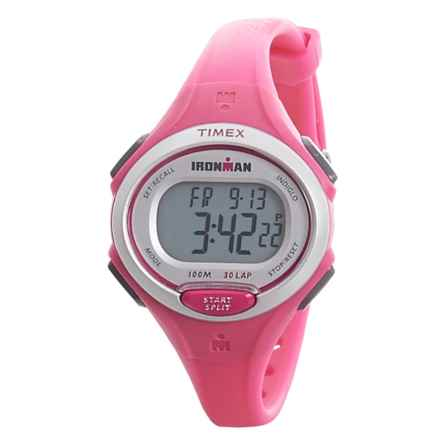 Timex IRONMAN® Essential 30 Mid-Size Digital Watch (For Women) in Pink - Closeouts
