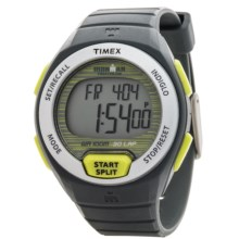 Timex Ironman Oceanside 30-Lap Digital Watch (For Women) in Grey/Yellow - Closeouts