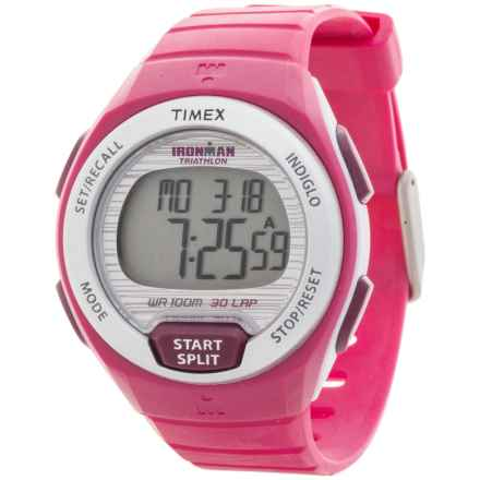 Timex Ironman Oceanside 30-Lap Digital Watch (For Women) in Pink - Closeouts