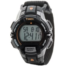 Timex Ironman® Rugged 30 Full-Size Sports Watch in Charcoal/Black - Closeouts