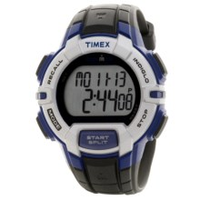 Timex Ironman® Rugged 30 Full-Size Sports Watch in White/Silver Blue/Black - Closeouts