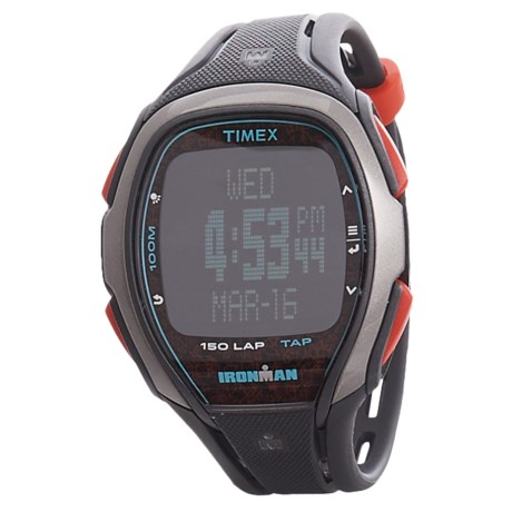 Timex IRONMAN® Sleek 150 Full-Size Digital Watch (For Men) in Grey