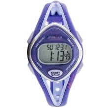 Timex Ironman® Sleek 50 Mid-Size Sports Watch (For Women) in Purple/Light Purple - Closeouts