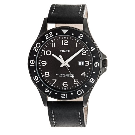 Timex Kaleidoscope Watch Leather Band (For Men)