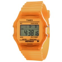 Timex Originals Classic Chronograph Watch (For Men and Women) in Orange - Closeouts
