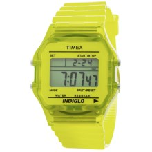 Timex Originals Classic Chronograph Watch (For Men and Women) in Yellow - Closeouts