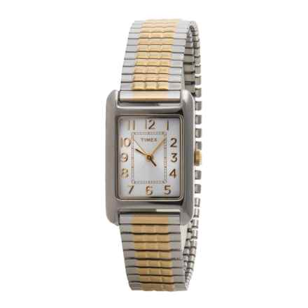 Timex Style Classic Elevated Watch - Stainless Steel Bracelet (For Women) in Silver/Stainless Steel - Closeouts