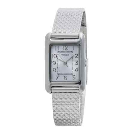 Timex Style Elevated Watch - Stainless Steel Bracelet (For Women) in Silver/Stainless Steel - Closeouts