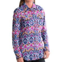 Tin Haul Allover Print Western Shirt - Snap Front, Long Sleeve (For Women) in Multi - Closeouts