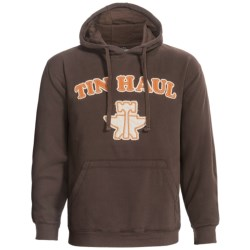 Tin Haul Cotton Hoodie (For Men) in Brown