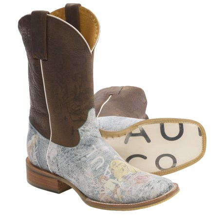 Tin Haul Faded Angel Cowboy Boots (For Women)