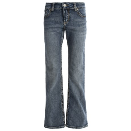 Tin Haul Rosie Fit Deco Stitch Jeans Low Rise, Bootcut (For Women)
