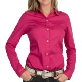 Tin Haul Solid Shirt - Button Front, Long Sleeve (For Women)