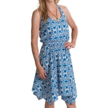 Tin Haul Tapestry Ikat Print Dress - Sleeveless (For Women) in Blue - Closeouts