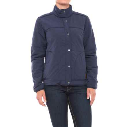 Toad&Co Aerium Bomber Jacket - Insulated (For Women) in Deep Navy - Closeouts