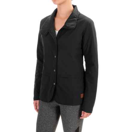 Toad&Co Aerium Packable Blazer - Insulated (For Women) in Black - Closeouts