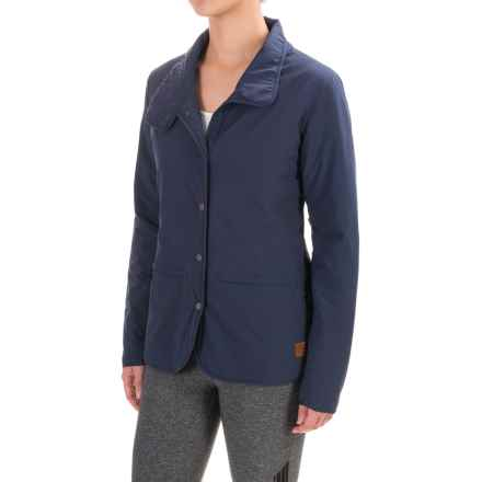 Toad&Co Aerium Packable Blazer - Insulated (For Women) in Deep Navy - Closeouts