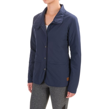Toad&Co Aerium Packable Blazer - Insulated (For Women) in Deep Navy