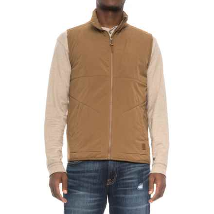 Toad&Co Aerium Vest - Insulated (For Men) in Seal Brown - Closeouts