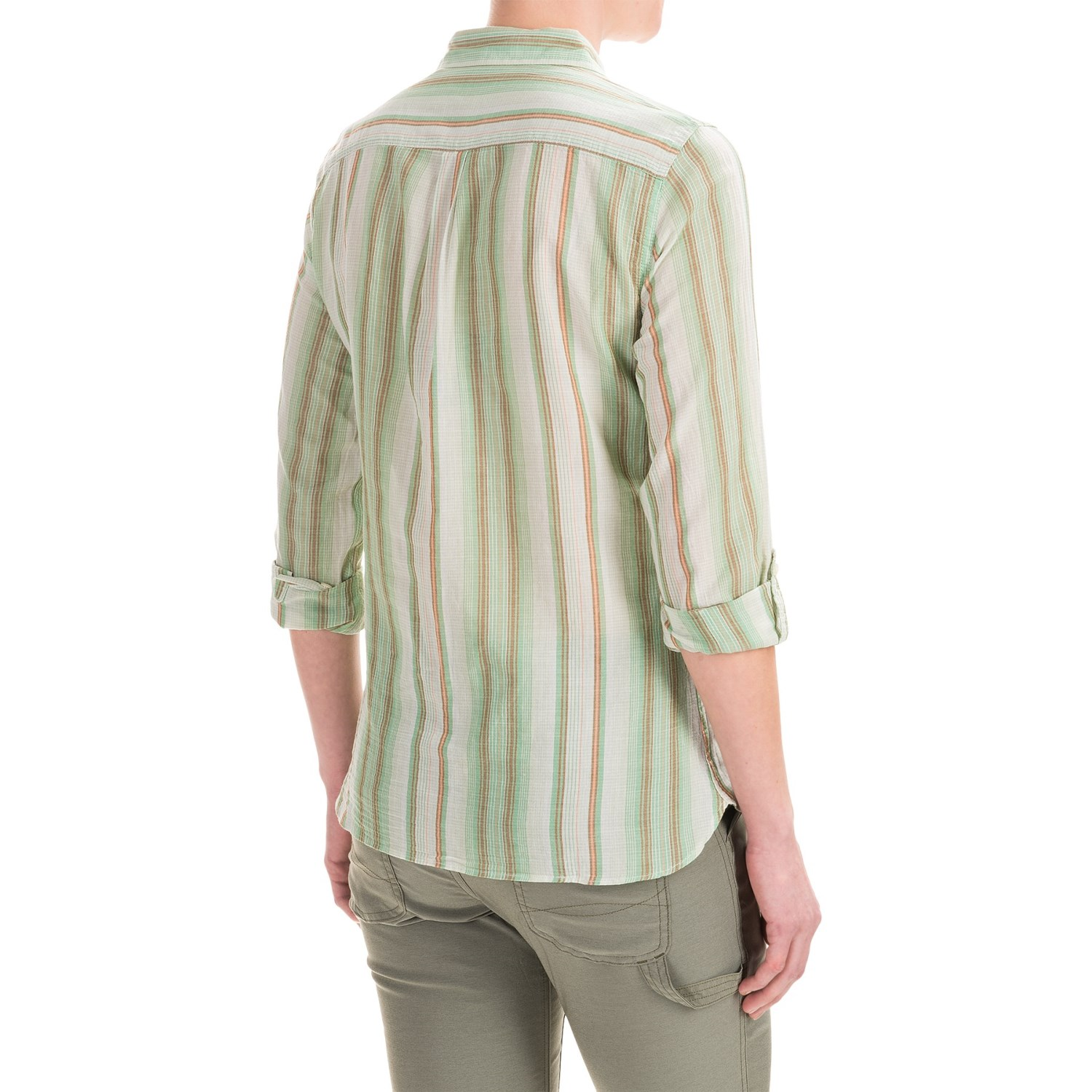 Toad Amp Co Airbrush Button Front Shirt For Women Save 57