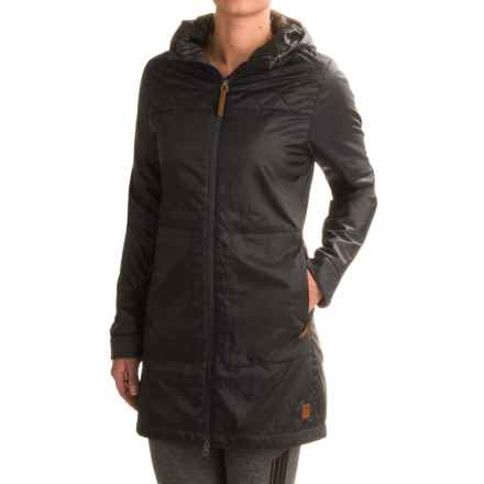 Toad&Co Airvoyant Hooded PrimaLoft® Puffer Jacket - Insulated (For Women) in Black - Closeouts