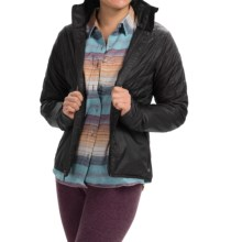 Toad&Co Airvoyant Quilted PrimaLoft® Jacket - Insulated (For Women) in Black - Closeouts